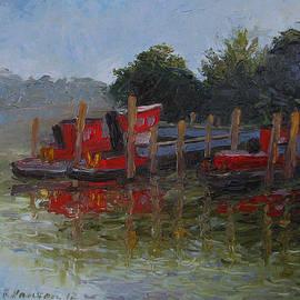 Art Nomad Sandra  Hansen - Little Tugs in Holland Michigan