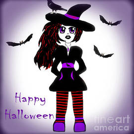 Eva Thomas - Little Witch Halloween Girl