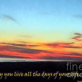Sandra Clark - Live Your Life Ocean Isle Sunset