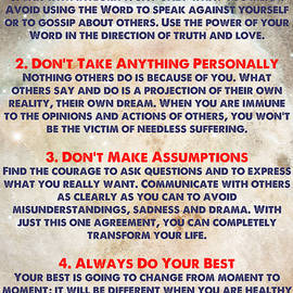 Adam Asar - LIVING THE FOUR AGREEMENTS - Wisdom Of The Toltecs