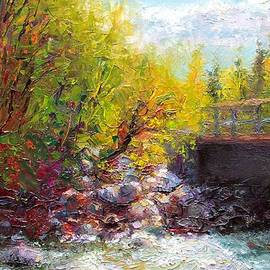 Talya Johnson - Living Water - bridge over Little Su River