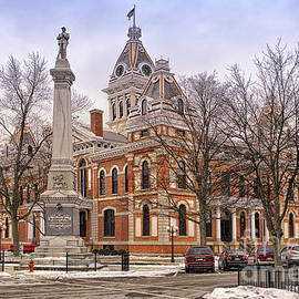Thomas Woolworth - Livingston County Courthouse 06 Pontiac IL