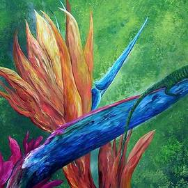 Eloise Schneider - Lizard on Bird of Paradise