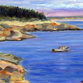 Pamela Parsons - Lobster Boat in Jonesport Maine