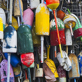 Steven Ralser - Lobster Buoys - Maine