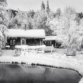 Thomas Payer - Log Cabin at the Hot Springs