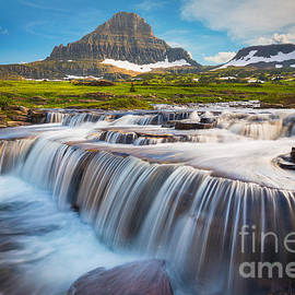 Inge Johnsson - Logan Pass Falls