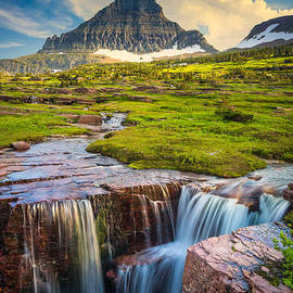 Inge Johnsson - Logan Pass Landscape