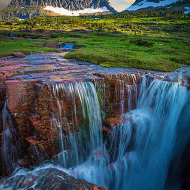 Inge Johnsson - Logan Pass Sunset