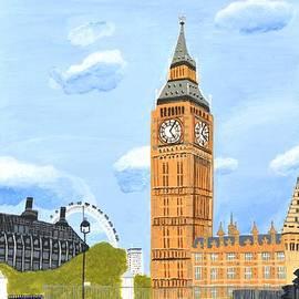 Magdalena Frohnsdorff - London England Big Ben
