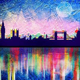 Mark Ashkenazi - London in blue