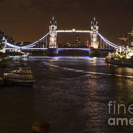 Deborah Smolinske - London Tower Bridge by Night