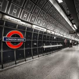 Benjamin Hardman - London Tube Caught In The Late Hours Of