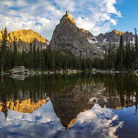 Aaron Spong - Lone Eagle Peak and Mirror Lake