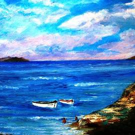 Constantinos Charalampopoulos - Lonely boats