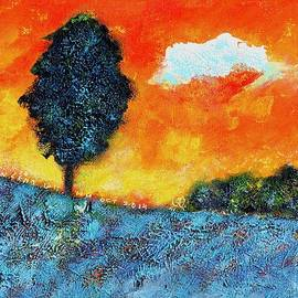 Ion vincent DAnu - Lonely Tree Orange Sky