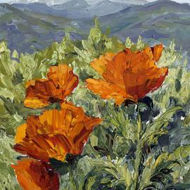 Mary Giacomini - Longs Peak Poppies