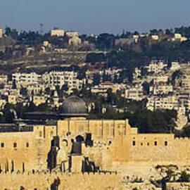 Alan Marlowe - Looking down into Jerusalem