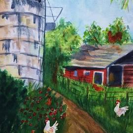 Ellen Levinson - Looking Down On The Farm