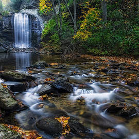 Linda D Lester - Looking Glass Falls