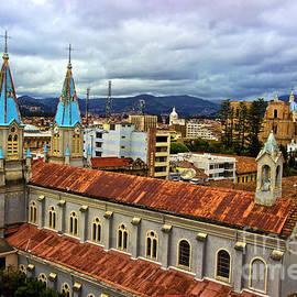 Al Bourassa - Looking Over San Alfonso - Cuenca - Ecuador