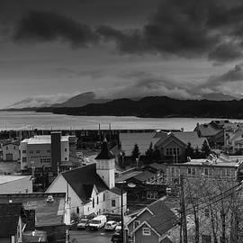Timothy Latta - Looking South from Ketchikan Alaska