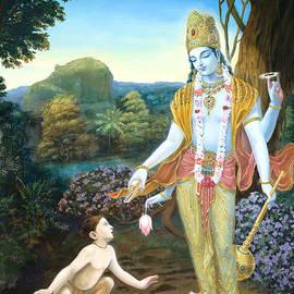 Dominique Amendola - Lord Vishnu apprears to Dhruva