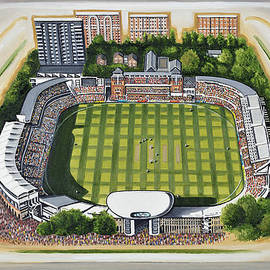 D J Rogers - Lords Cricket Ground