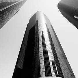 Paul Velgos - Los Angeles Office Buildings in Black and White