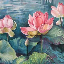 Elena Oleniuc - Lotus pond