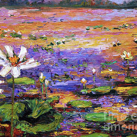 Ginette Callaway - Lotus Pond