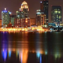 Frozen in Time Fine Art Photography - Louisville at Night