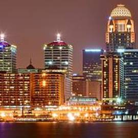 Frozen in Time Fine Art Photography - Louisville Panoramic View
