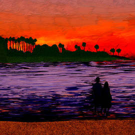 Bruce Nutting - Love at Sunset