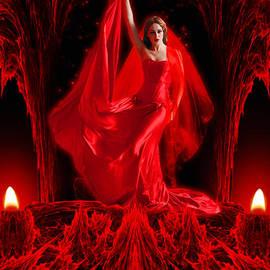 Giada Rossi - Love goddess - fantasy art by RGiada