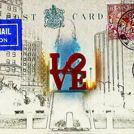 Bill Cannon - Love Park Post Card