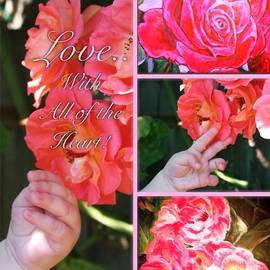 Kimberlee  Baxter - Love with All of the Heart Collage