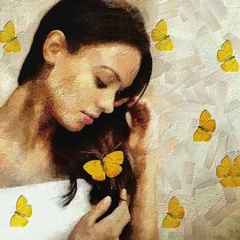 Gun Legler - Loved by butterflies