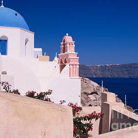 Aiolos Greek Collections - Lovely church in Santorini