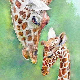 Jane Schnetlage - Loving Mother Giraffe2