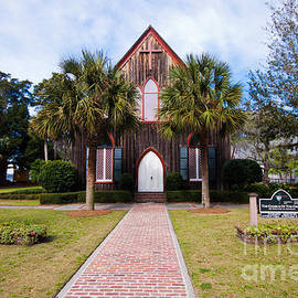 Thomas Marchessault - Low Country Wooden Church