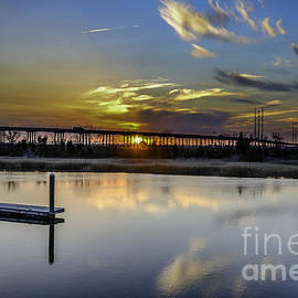 Dale Powell - Lowcountry Marina Sunset
