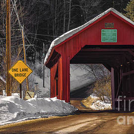 New England Photography - Lower Covered Bridge.