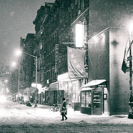Vivienne Gucwa - Lower East Side - Winter Night - New York City