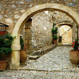 Lainie Wrightson - Lower Preveli Monastery Crete 1