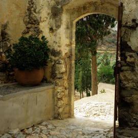Lainie Wrightson - Lower Preveli Monastery Crete 3
