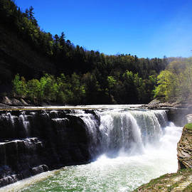 Paul Ge - Lower Waterfalls In Letchworth State Park