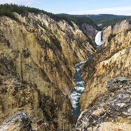 Brian Harig - Lower Yellowstone Canyon Falls - Yellowstone National Park