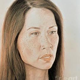 Jim Fitzpatrick - Lucy Liu Natural Beauty