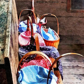Lunch Baskets in One Room Schoolhouse